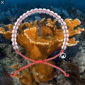 4c436b2dc7948 1 LimitedEdition 4Ocean CoralReef Bracelet RED NEW NWT